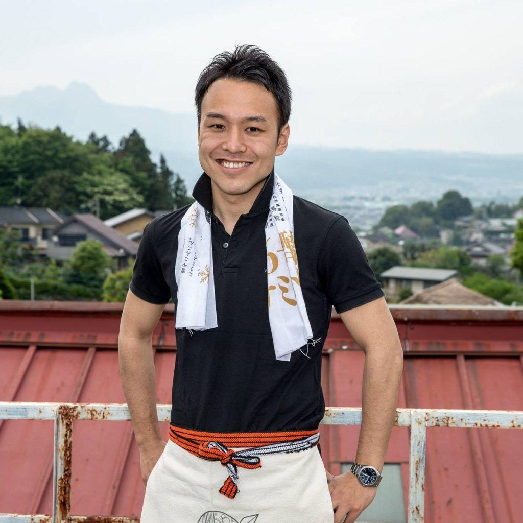 Takuma Inagawa des sakés Wakaze.